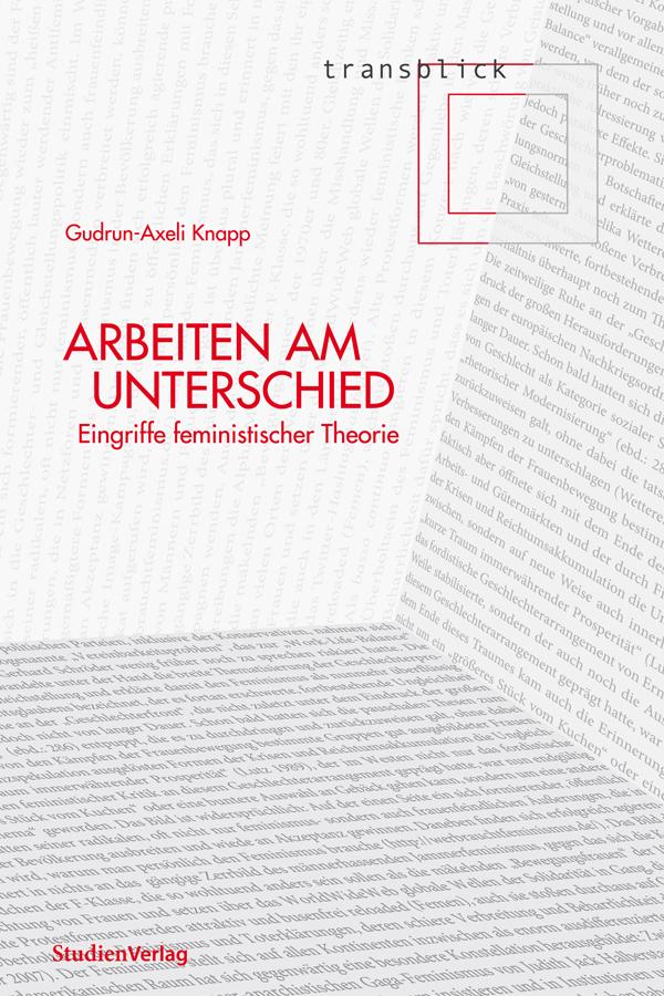 Gudrun Axeli-Knapp: Arbeiten am Unterschied